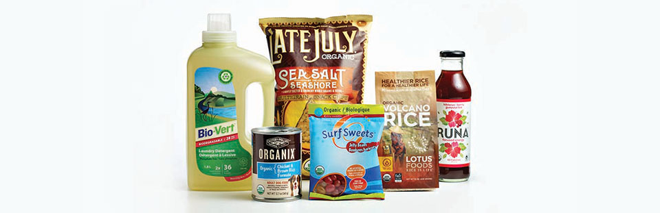 Organic and natural products distributions